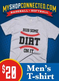 MyShopConnected Men Baseball T-shirts